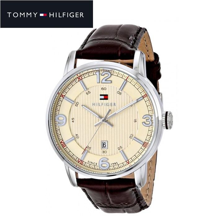 トミーヒルフィガー TOMMY HILFIGER 1710343 (84)時計 腕時計 メンズ ブラウン レザー