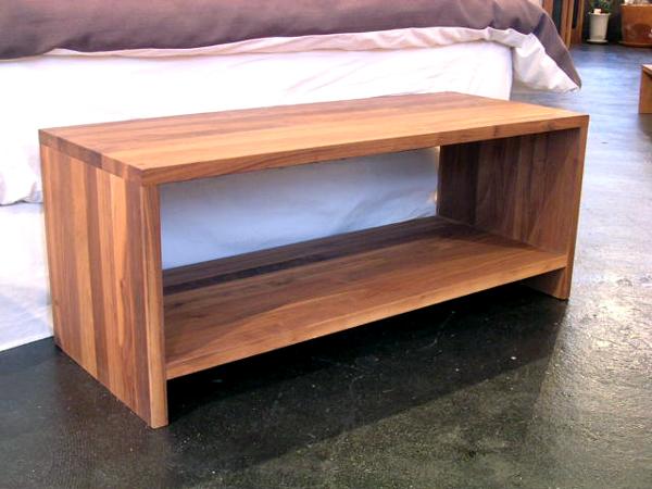 チェルシーサイドテーブル 1000WN / ウォールナット製作 : アカセ木工