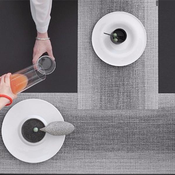 チルウィッチ レクタングル 長方形ランチョンマット テーブルランナー世界の一流ホテルやレストランでも使用お手入れ簡単 公式 完売 耐久性 おしゃれ 高級感 オンブレテーブルマット chilewich Ombre 48×36cm