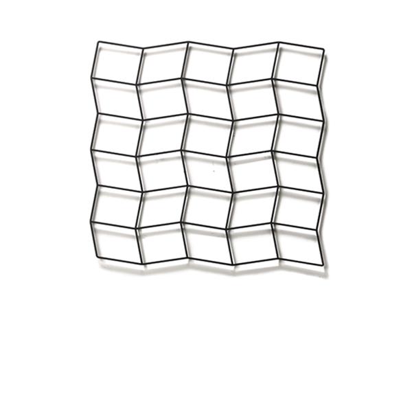 Wall Deco ridge 6×5 / ウォールデコ リッジ 6×5 (670×641mm)