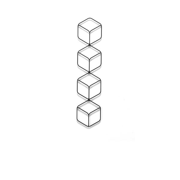 Wall Deco I / ウォールデコ I (160×722mm)