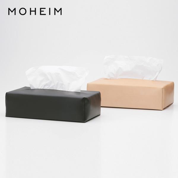 【送料無料】MOHEIM(モヘイム) / TISSUE COVER レザーのティッシュケースサイズ:W245×D120×H60mm