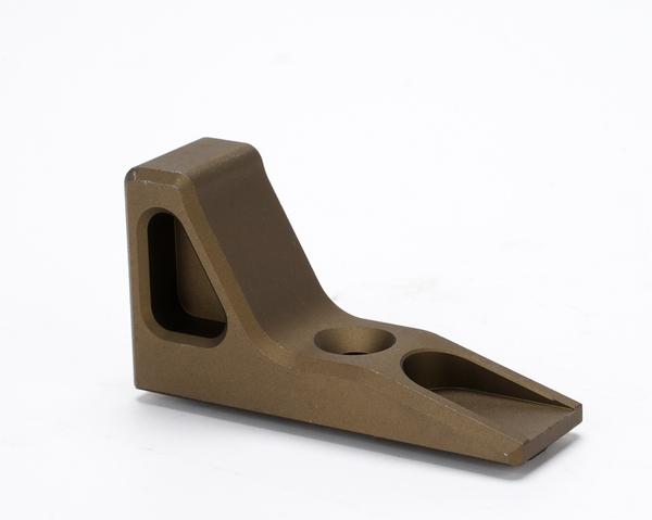 Broptica 70%OFFアウトレット ライトウェイト SLR タイプ 通販 CNC バリケード de アルミ Mod1 デザートアース ハンドストップ M-LOK