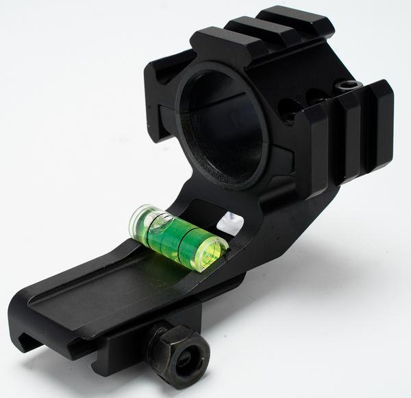 Broptical 一体型スコープマウント 好評受付中 25 30mm 両対応 水平器つき プレゼント ver 5.23b 装備 スコープマウント マウント 用品 サバゲー アダプター