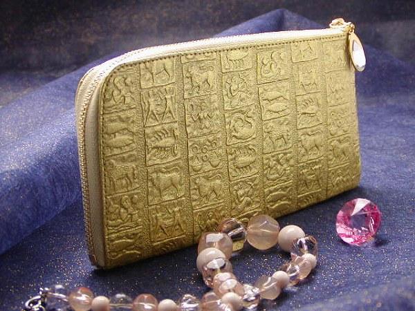金運アップ・開運財布専門店 「財布屋」 日本の財布職人が作る開運の財布 金「開運星座」 レジさっと