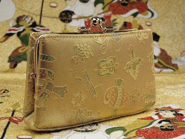 金運アップ・開運財布専門店 「財布屋」 日本の財布職人が作る開運の財布 金「宝づくし」 ガマ口