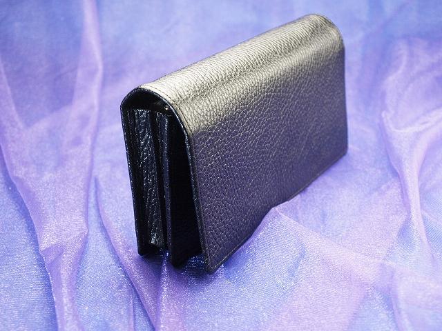 開運祈願財布専門店 「財布屋」 財布職人が作る縁起のいい財布 黒の200万円入る財布