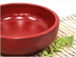 送料無料 布張り大鉢 購入 根来 木製 布張り 漆塗り サラダボール 蕎麦鉢 30センチ 日本最大級の品揃え
