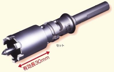 ミヤナガ PCPVD29瓦用ダイヤコアドリルセット湿式乾式兼用径29mm