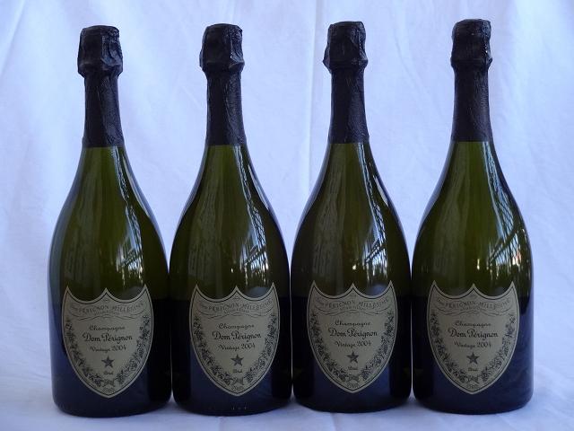 パーティー祝乾杯酒 30人分4本セット ドンペリニヨン 白 正規輸入品750ml×4本(100ml×30人分)