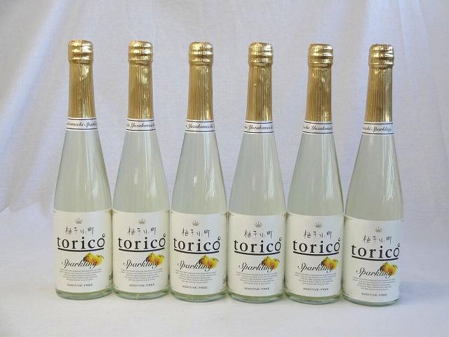 6本セット柚子小町 torico ゆずこまち トリコ スパークリング 500ml×6本