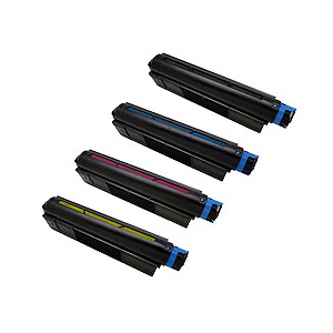 OKI 沖電気工業 TNR-C4BK1 4色セット 激安リサイクルトナー