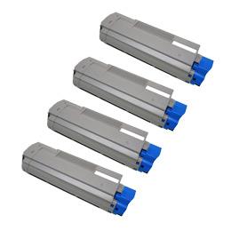 OKI 沖電気工業 TNR-C4CK1/C4CK3 4色セット 激安リサイクルトナー