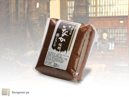 飛騨高山 日本産 いなか味噌 つぶ 贈呈 500g 柴田