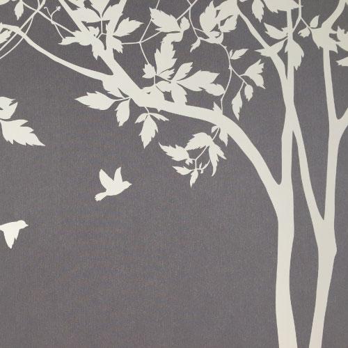 【ブログレビュー】大木聖美さん:サンサンフーさんのウォールステッカーで寝室DIY! ウォールステッカー【木陰で】