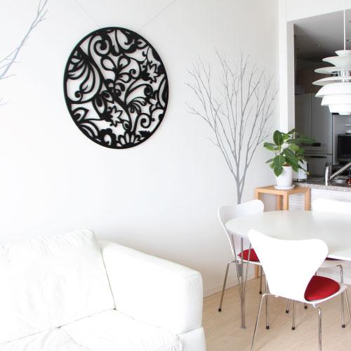 【ブログレビュー】megruさん:壁をデコレーション●木製ウォールアート!ウッドウォールアート【ロマンスCL】