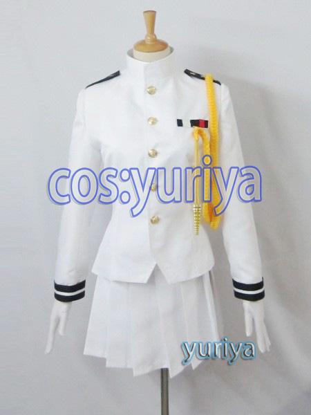 艦隊これくしょん 艦これ 戦艦大和 海軍 提督 女性★コスプレ衣装