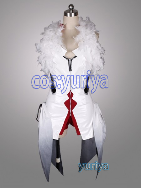 ギルティクラウン GuiltyCrown★楪祈 楪 いのり戦闘服★コスプレ衣装