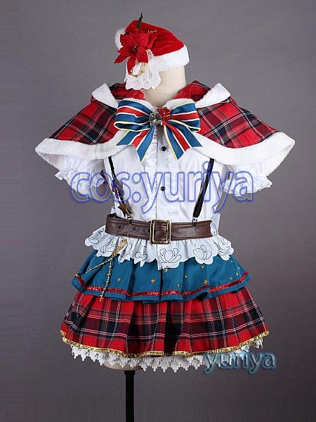 ラブライブ!サンシャイン!クリスマス津島 善子(つしま よしこ)★コスプレ衣装