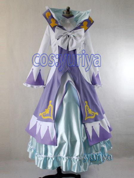 ふしぎ星の☆ふたご姫(レインの青ドレス)★コスプレ衣装