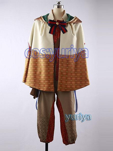 夢王国と眠れる100人の王子様 夢100 ミヤ風 太陽 文壇恋物語 魔術の国・ソルシアナ 王子★コスプレ衣装