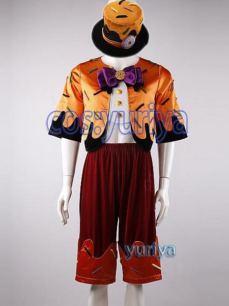 東京ディズニーシー「ウォーターフロントパーク」カップケーキに仮装した ダッフィー★コスプレ衣装