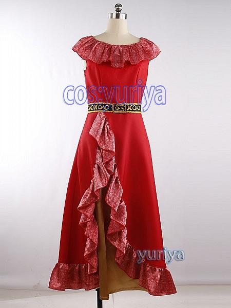 ディズニー アパローのプリンセス エレナ 風★コスプレ衣装