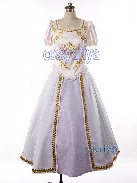 塔の上のラプンツェル (ウエディングドレス) ★コスプレ衣装