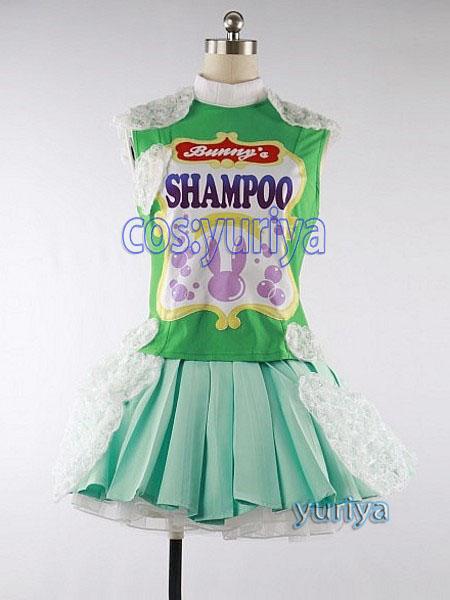 ディズニー うさたま大脱走 シャンプー隊 ダンサー 緑★コスプレ衣装