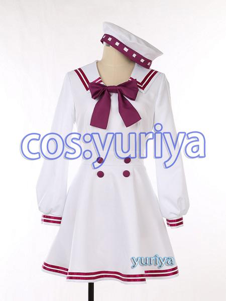 FGO 概念礼装 白い服の水兵さん ステン★コスプレ衣装