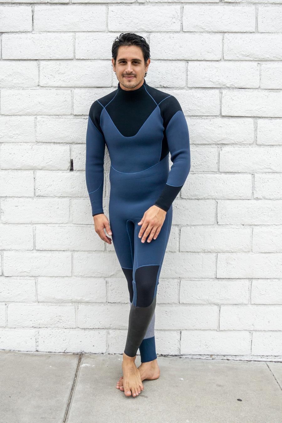 2018/19 ネックエントリー3mm (ボディ)×3mm(袖) フルスーツ ウエットスーツメンズ ポイントカラー1色無料ウェットスーツ ジャーフル 男性用オーダー サーフィン