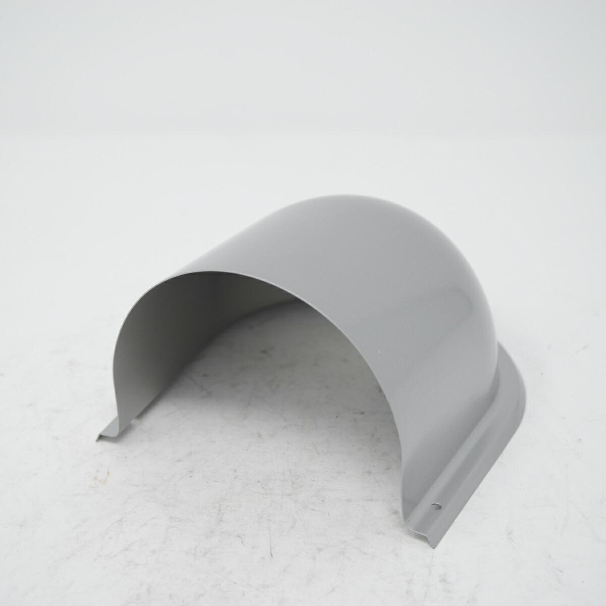換気用ガラリのカバーです。 ガラリ 換気口 カバー のみ U型フードステンレス 100MG 屋根のあるテラス バルコニー 下部開放タイプ 新築 リフォーム DIY 住宅 外壁換気 自然吸排気用品 強制給排気口部品