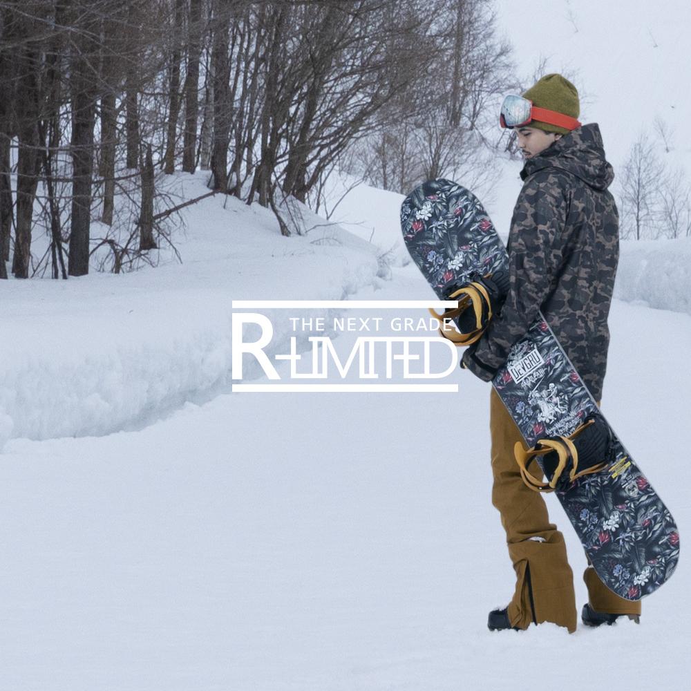 18-19R-ltd(アールリミテッド) ユニセックス ジャケット単品 JK スノーボードウェア スキーウェアスノーボードウェア ジャケット 単品 スノボウェア スキーウェア