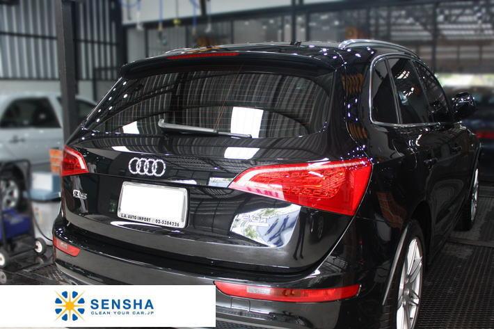 """SENSHA""  car window compound GLASS POLISH glass cleaner"