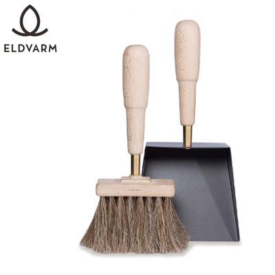 エルデバーム シャベル&ブラシ エマ(ブナ) Shovel&Brush Emma 【品番:70015】 薪ストーブグッズ