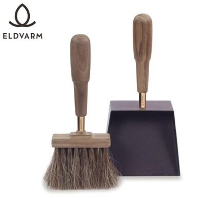 エルデバーム シャベル&ブラシ エマ(ウォールナット) Shovel&Brush Emma 【品番:70016】 薪ストーブグッズ