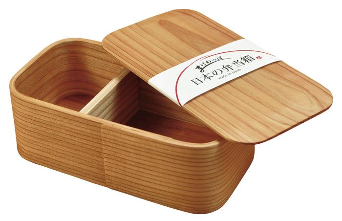 【日本の弁当箱シリーズ】 大分産 日本の曲げわっぱ弁当箱 長角 一段 曲げわっぱ 天然木製 japan ランチボックス 父の日 母の日 ギフト