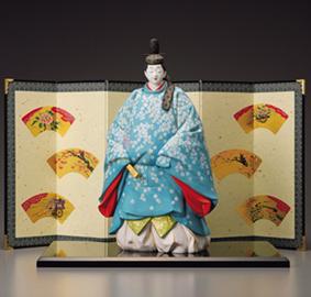 伝統工芸師 川崎幸子『桜・源氏の君』