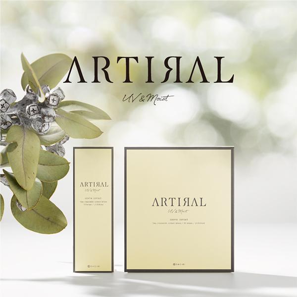 アーティラル ARTIRAL UV&MOIST ワンデー 4箱セット ネコポス便 送料無料 1箱30枚入り 度あり 度なし サークルレンズ