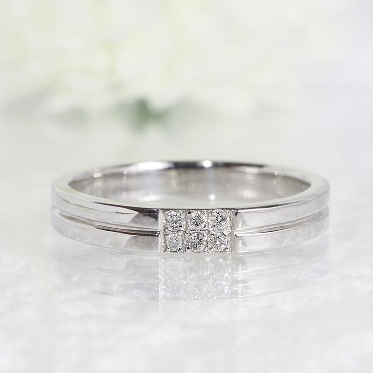 ファッション・ジュエリー・アクセサリー・レディース・指輪・リング・プラチナ・Pt900・ダイヤ・ダイア・ダイヤモンド・ダイアモンド 重ねづけ・プレゼント・ピンキー・送料無料・品質保証書・4月・誕生石 *