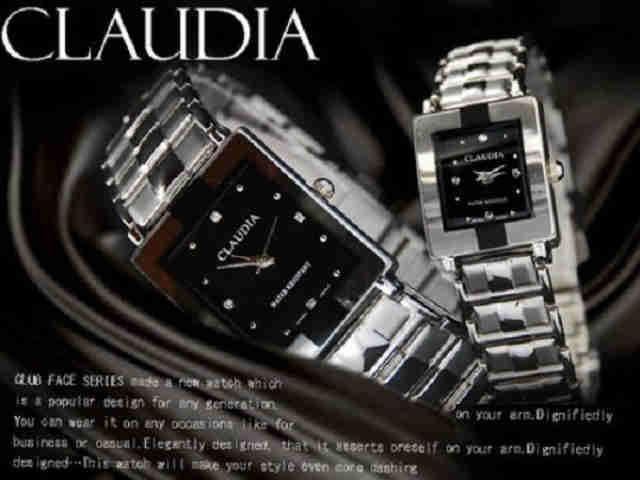腕時計 レディース ドレスウォッチ ジルコニア メタル クオーツ