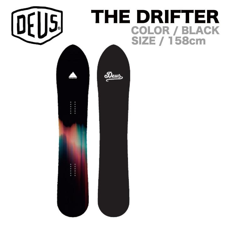 DEUS デウス 16-17 THE DRIFTER ザドリフター 158 158cm BLACK スノーボード スノーサーフ SNOWBOARD SNOWSURF
