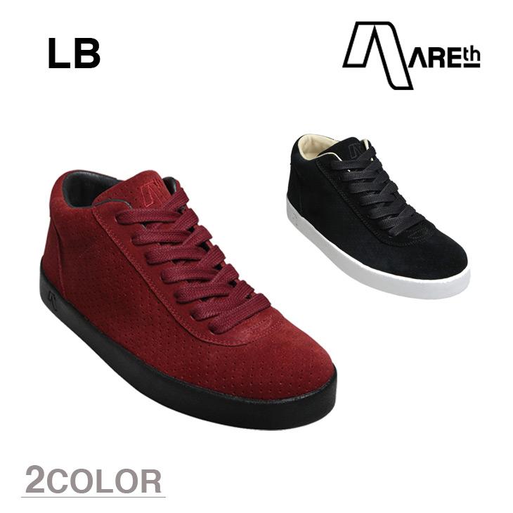 AREth スニーカー 靴 LB アース エルビー 2016モデル 各2色 23.5-29.0cm 【正規品】【送料無料】 areth