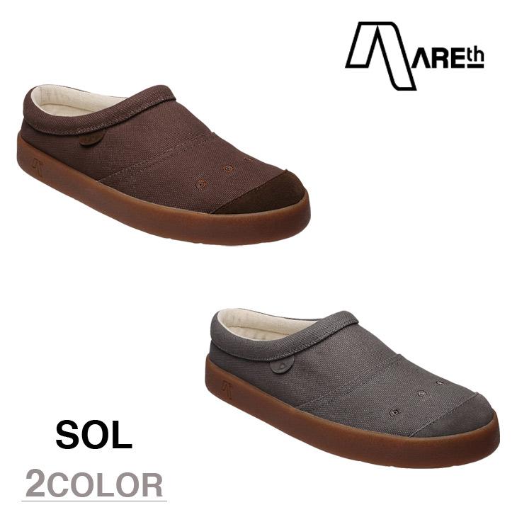 AREth スニーカー 靴 SOL アース 2016モデル 各2色 25.0-28.5cm 【正規品】 areth