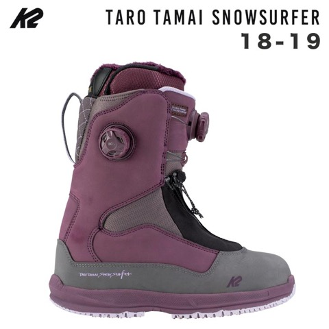 K2 ケイツー 18-19 TARO TAMAI SNOWSURFER WOMEN'S スノーサーファー ウィメンズ TT 玉井太郎 GENTEMSTICK GENTEM スノーボード ブーツ SNOWBOARD BOOTS K2TT【早期予約 正規品】