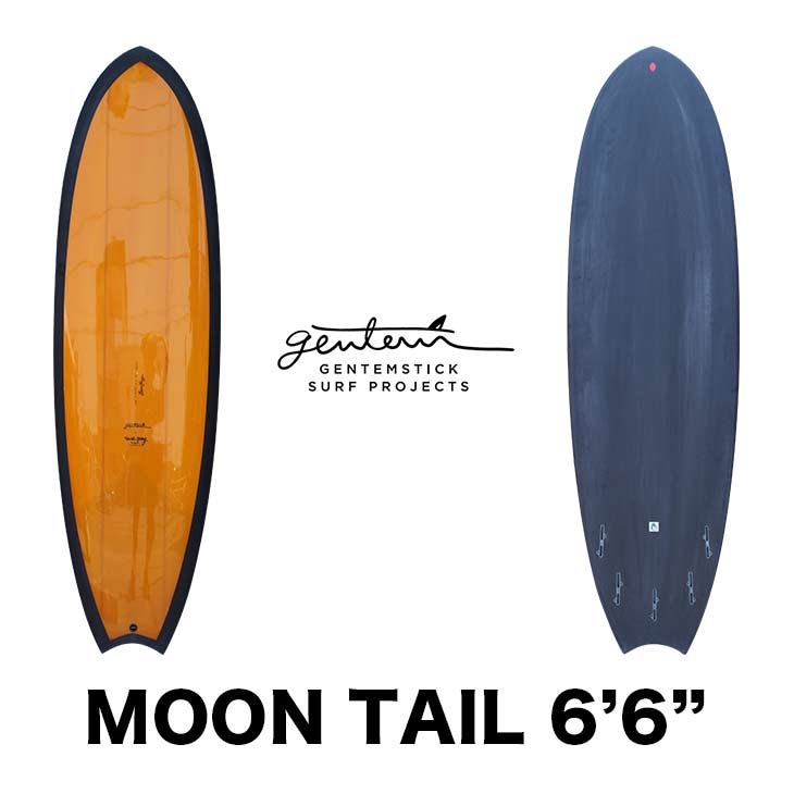 GENTEMSTICK SURF PROJECT ゲンテンスティック サーフボード MOON TAIL BEAU YOUNGE 6'6