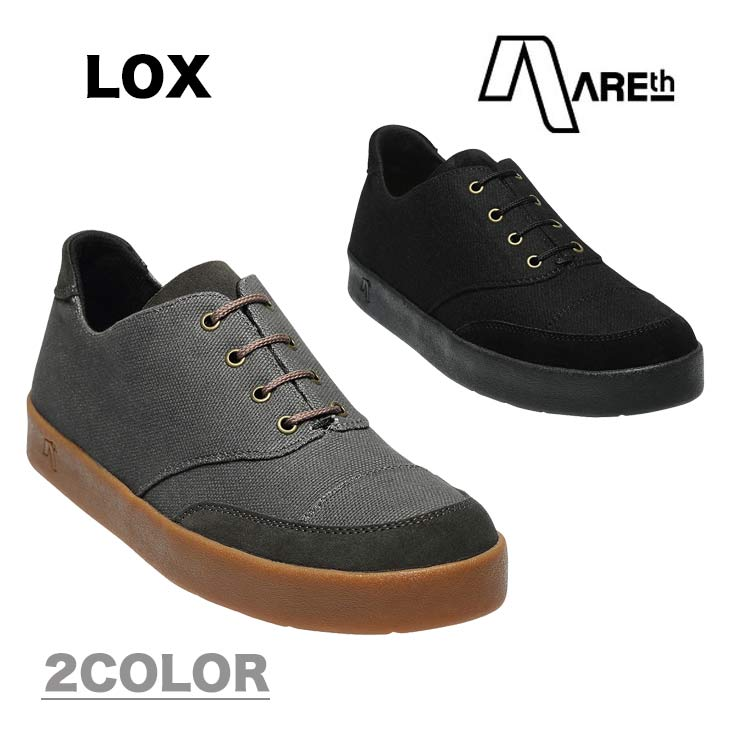 AREth アース スニーカー 靴 LOX ロックス 2018モデル 各3色 23.5-29.0cm