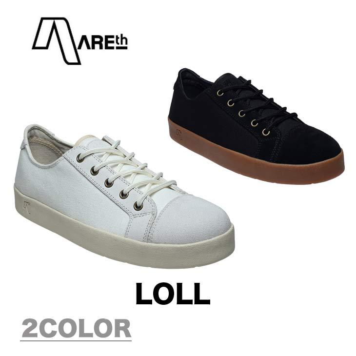 AREth アース スニーカー 靴 LOLL ロル 2018モデル 各2色 23.5-29.0cm