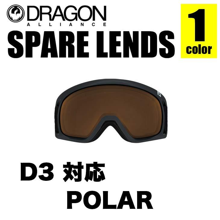 DRAGON ドラゴン スペアレンズ D3 LENS ディースリー レンズ LUMALENS POLARIZED ルーマレンズ ポラライズド