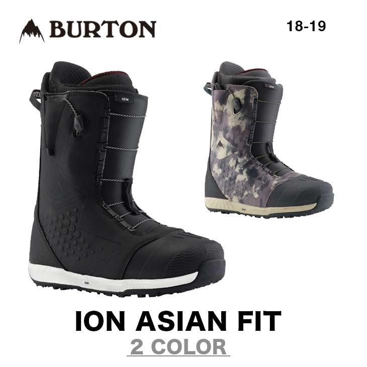 BURTON バートン ブーツ 18-19 ION ASIAN FIT アイオン アジアンフィット スノーボード メンズ 【早期予約】【正規品】【送料無料】【早期予約特典多数】
